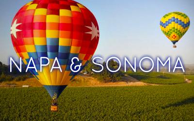 Napa and Sonoma